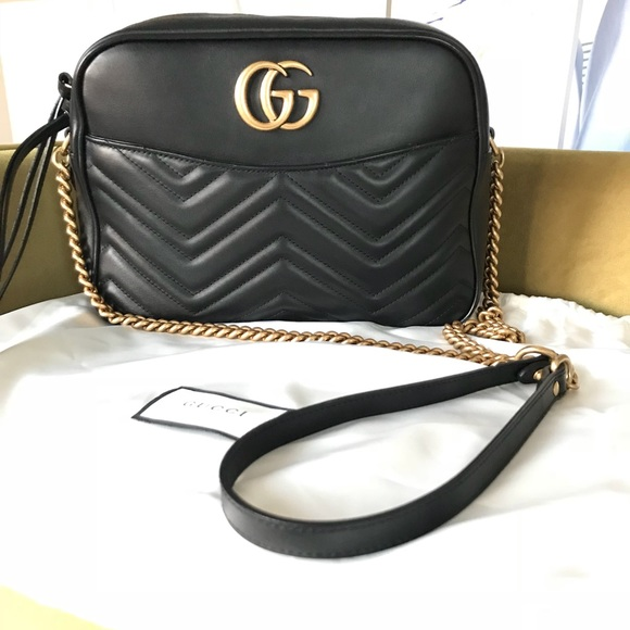 aefb9571383 Gucci Handbags - Medium GG Marmont matelassé shoulder bag